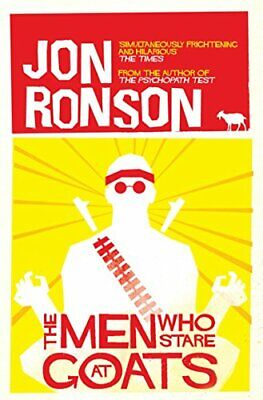 The Men Who Stare At Goats, Ronson, Jon Paperback Book The Cheap Fast Free Post