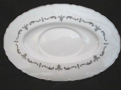 Royal Worcester - SILVER CHANTILLY - Gravy Boat Stand