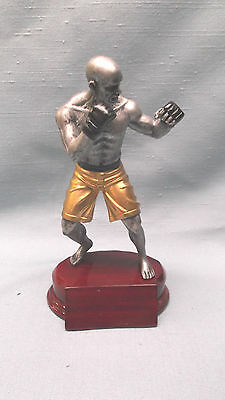 male mixed martial arts statue trophy  resin personalized RFC763