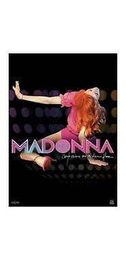 MADONNA POSTER ~ CONFESSIONS ON A DANCE FLOOR 22x34 Music