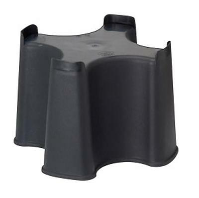 Strata Slim Space Saver Water Butt Stand Black Plastic Stand For 100L Water Butt