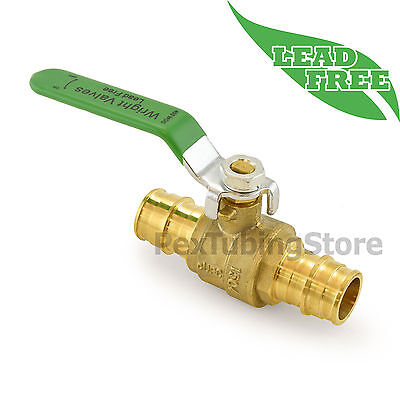 "3/4"" ProPEX Lead-Free Brass Shut-Off Ball Valve, Full Port, 400psi WOG"
