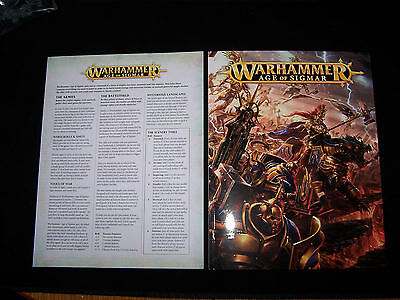 Warhammer Age of Sigmar Background and Rule Books