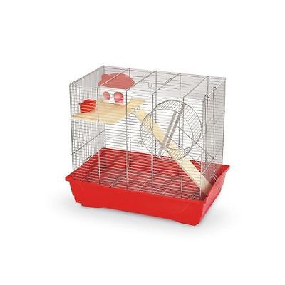 MPS Cage rongeur Ciop 60 rouge 56,5 x 36,5 x 56cm - Cage rongeur Ciop 6 NEUF