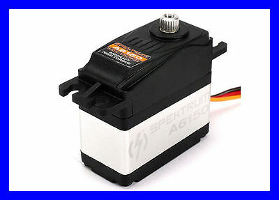Spektrum A6150 Hv Mg High Torque Waterproof Metal Gear Rc Servo Spmsa6150