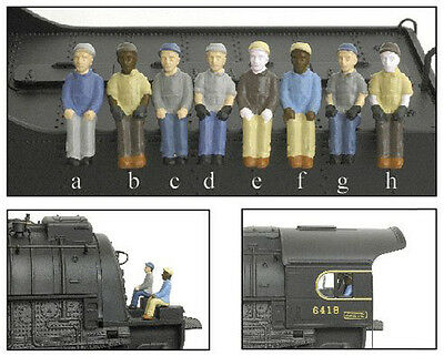 Broadway Limited 1005 HO Engineer And Fireman Figures 2- Pack c,H