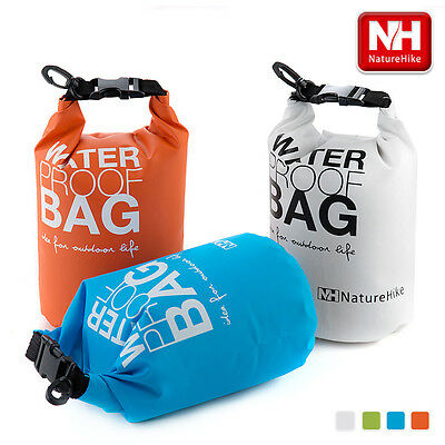 Rafting Waterproof Dry Sack Bag Packs Storage Sack Camp Swim Sport 5L 2L Kayaks