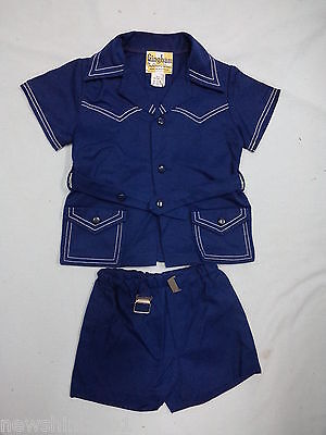 #ff2. Australian Made Gingham Child's Top & Shorts