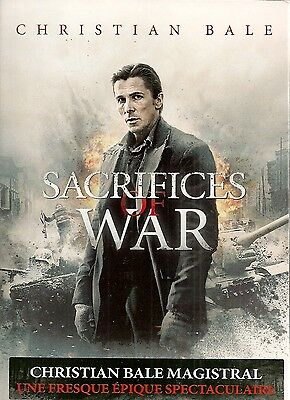 "DVD ""Sacrifices of War"" - Christian Bale  NEUF SOUS BLISTER"