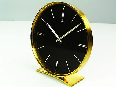 Beautiful Art Deco Design Desk Clock From Junghans Germany