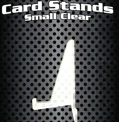10 Stands for Standard Sized 3X4 Card Topload Holders - Toploader Stand