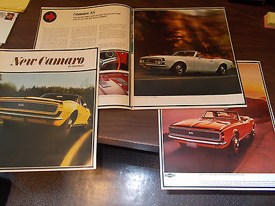 1967 Chevrolet Camaro Original 20-Page Revised Sales Catalog