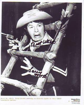 LARRY STORCH signed autographed F TROOP CPL. RANDOLPH AGARN photo