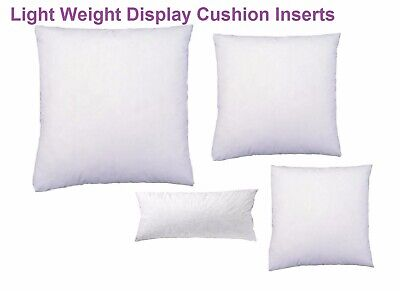 Light Weight Display Cushion Inserts 10 Sizes Of Cushion Insert