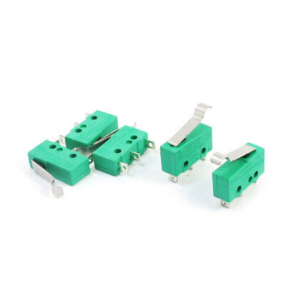 5pcs AC 125V/250V 5A Hinge Lever Micro Limit Switch KW4-3Z-3 for Mill CNC