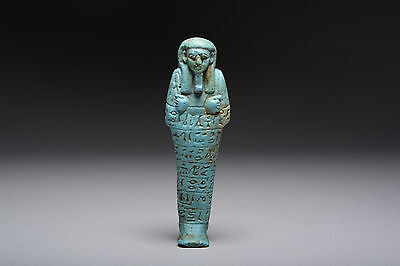 Ancient Egyptian Shabti for the Governor of Upper Egypt