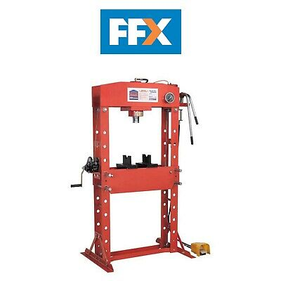 Sealey YK509FAH Air/Hydraulic Press 50tonne Floor Type with Foot Pedal