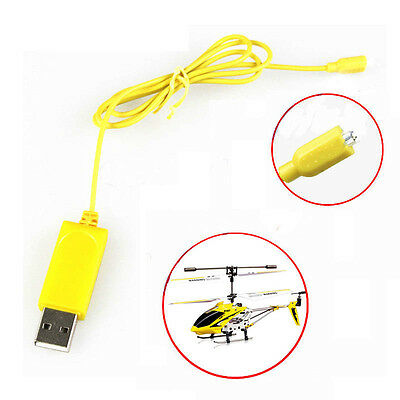 1x USB Charger Charging Cables SYMA S107 S105 RC Remote Control Helicopter