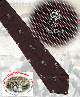 England tour of the Far East (FE) 1971 RUGBY TIE