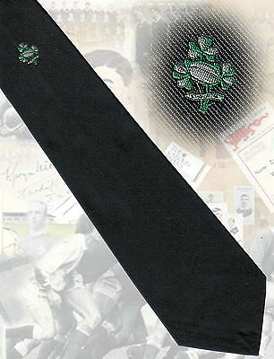 Ireland, players & committee tie, circa 1990s- 8.5cm RUGBY TIE