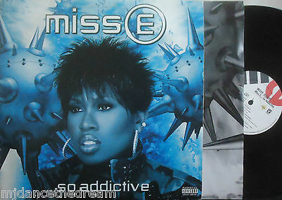 MISSY MISDEMEANOR ELLIOTT ~ Miss E So Addictive ~ 2 x VINYL LP