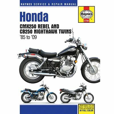 Haynes Manual 2756 Honda CMX250 85-09