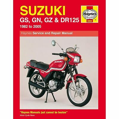 Workshop Manual Suzuki GS125, GN125, GZ125, DR125 1982-2005
