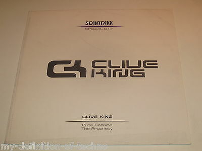 """Clive King, Pure Cocaine / The Prophecy (Scantraxx Special 017) 12"""" Hardstyle"""
