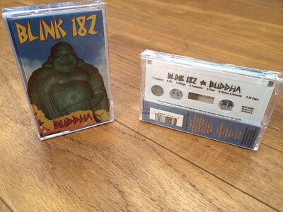 Blink 182 Buddha Cassette Tape only 350 made! punk rock! NEW! FREE USA SHIPPING+