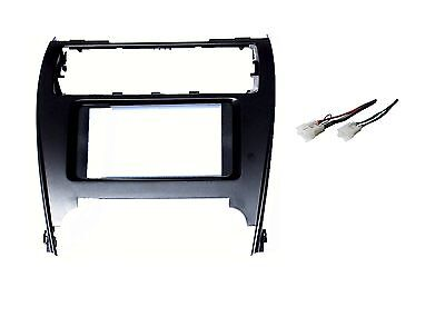 New Double Din Stereo Radio Trim Install Dash Kit Fits Toyota Camry 2012-2014