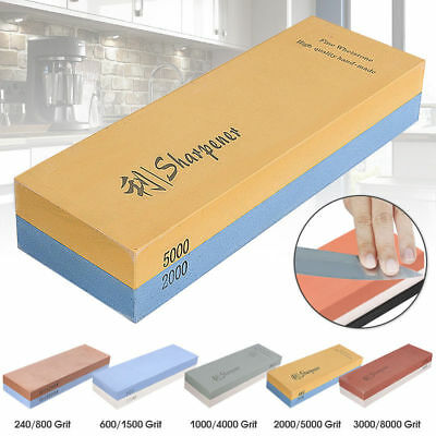 Japanese Whetstone Knife Grit 1000#-8000# Sharpener Sharpening Water Stone Stand