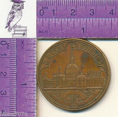 1893 World's Columbian Exposition Chicago Treasury Department Medal (15901 #02)