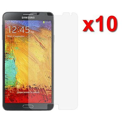10X Anti-Glare Screen Protector For Samsung Galaxy Note 3 III Phone Accessory