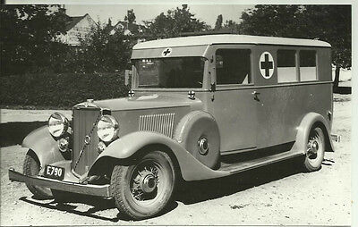 Volvo PV 655 1933-1935 Ambulance Photograph Mint Condition