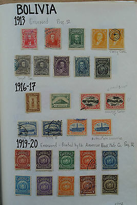 Lot 24531 Collection stamps of Bolivia 1867-1969.