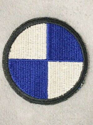 Army Patch: IV Corps AG border - cut edge 4th Corps