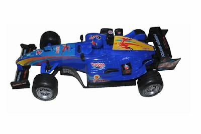 Formula 1 Racing Car F1 With Sound 1:18 Scale Blue Friction Power