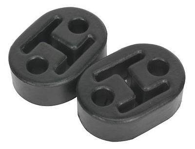 Sealey Exhaust Mounting Rubbers L60 x D41 x H20 (Pack of 2) EX02