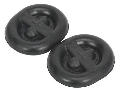 Sealey Exhaust Mounting Rubbers L62 x D54 x H13.5 (Pack of 2) EX03