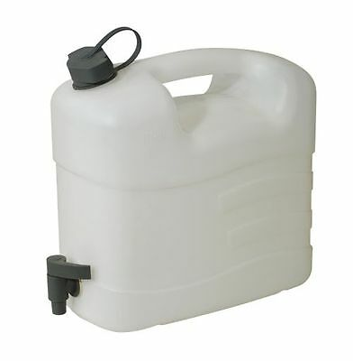 TO CLEAR - Sealey WC10T Fluid Container 10ltr with Tap Dispenser Camping Caravan