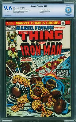 Marvel Feature 12 Cbcs 9.6 - White Pages
