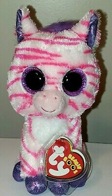 """Ty Beanie Boos ~ BUBBLY the Owl 6/"""" Claire/'s Exclusive MWMT"""