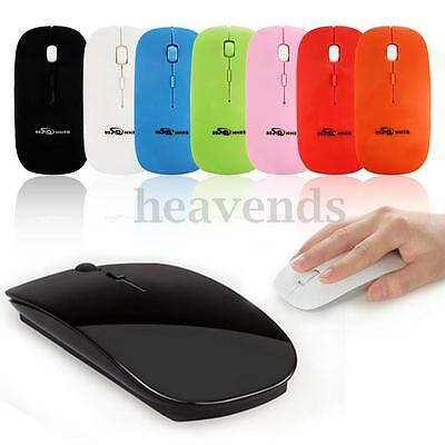 BESTRUNNER 2.4GHz Wireless Optical Mice Mouse Raton Inalámbrico for Laptop PC
