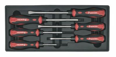 Sealey Tool Tray with Hammer-Thru Screwdriver Set 6pc TBT29