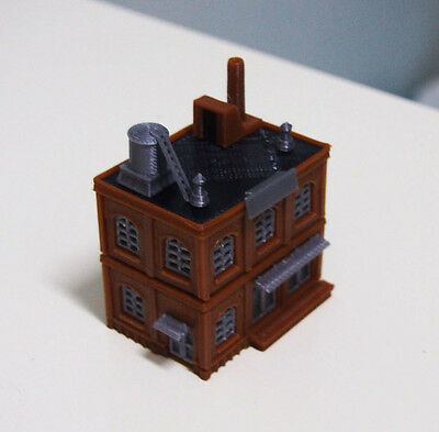 Outland Models Railway Industrial Building Factory / Warehouse STACKABLE Z Gauge