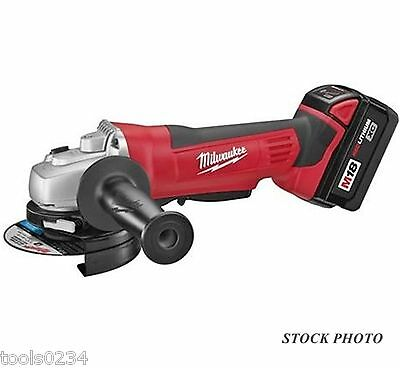 "New Milwaukee 2680-22 M18 4-1/2"" Cordless Cut-Off/Grinder Kit Free Shipping"