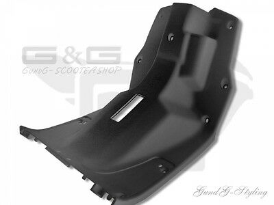 Legshield Fairing Interior Black - Cpi Popcorn Pgo Big Max Tornado Hot