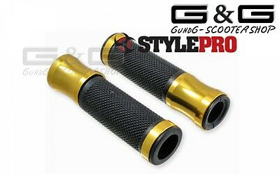 Stylepro Grips Handlebar Grips CNC Grips Alloy II for SCOOTER MOTORCYCLE QUAD