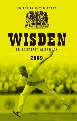Wisden Cricketers' Almanack 2009 by Scyld Berry Hardback Book The Cheap Fast