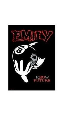 EMILY THE STRANGE POSTER ~ 8 BALL KNOW FUTURE 24x36 Cartoon Comic Book